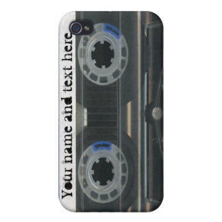 Personalized vintage Cassette Tape iPhone4 4s skin Cases For iPhone 4