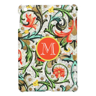 Personalized Vintage Floral Damask iPad Mini iPad Mini Case
