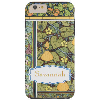 Personalized Vintage Gourd Pattern iphone Tough iPhone 6 Plus Case
