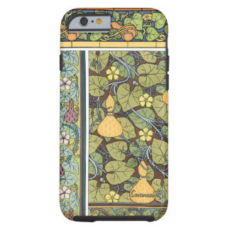Personalized Vintage Gourd Pattern iphone Tough iPhone 6 Case