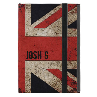 Personalized Vintage Grunge UK Flag Covers For iPad Mini