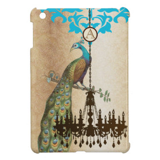 Personalized Vintage Peacock iPad Mini Case