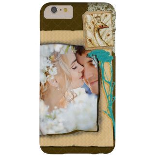 Personalized Vintage Photo Collage Barely There iPhone 6 Plus Case