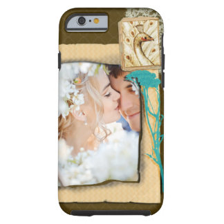 Personalized Vintage Photo Collage Tough iPhone 6 Case