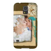 Personalized Vintage Photo Collage Case For Galaxy S5