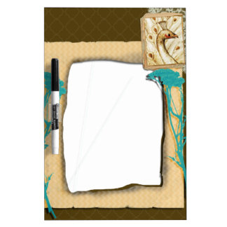 Personalized Vintage Photo Collage Dry-Erase Board