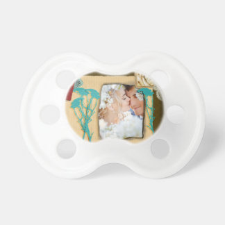 Personalized Vintage Photo Collage Pacifier