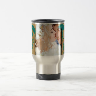Personalized Vintage Photo Collage Travel Mug