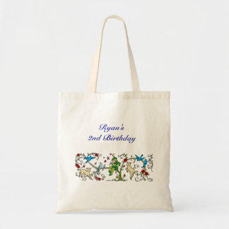 Personalized Vintage Pied Piper Tote Bags