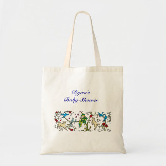 Personalized Vintage Pied Piper Canvas Bags