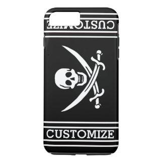 Personalized Vintage Pirate Flag iPhone 8 Plus/7 Plus Case