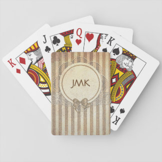 Personalized Vintage Playing Cards