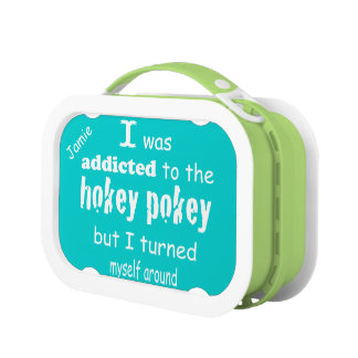 Personalized Vintage Retro Hokey Pokey Lunch Box