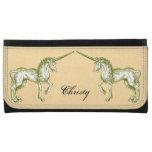 Personalized Vintage Unicorn Wallets