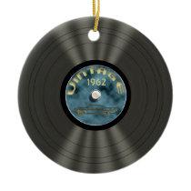 Personalized Vintage Vinyl Record Ornament
