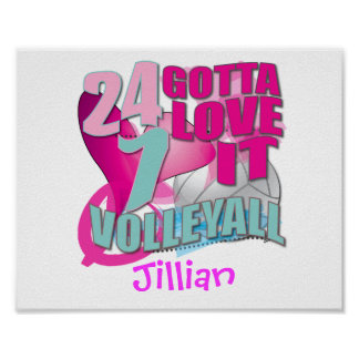 Personalized Volleyball Gifts Print