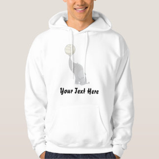 Personalized Volleyball Hoodie