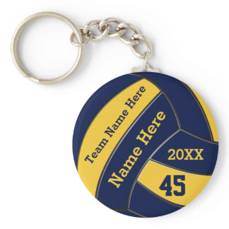 Personalized Volleyball Keychains BULk or One