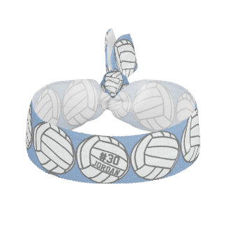 Personalized Volleyball Player Number, Name, Team Hair Tie