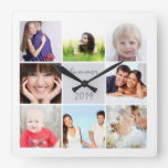 Personalized Wall Clock Family or Couple's Photos