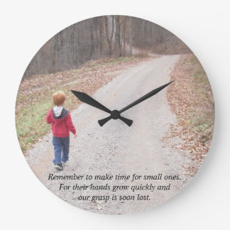 Personalized Wall clock with your photos and text
