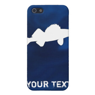 Personalized Walleye Fishing iPhone SE/5/5s Cover