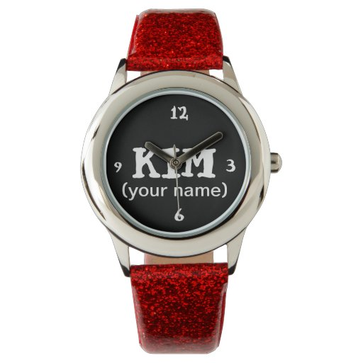 Personalized watch