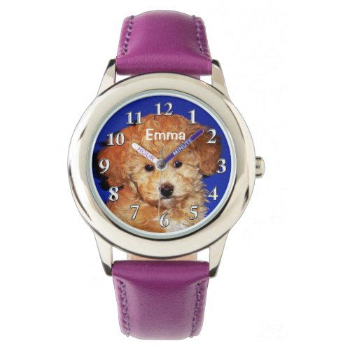 Personalized Watches for Girls, YOUR PHOTO, NAME
