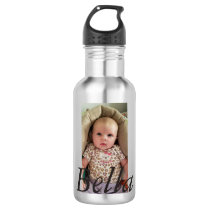 Personalized Water Bottle, Add Your Picture! Stainless Steel Water Bottle