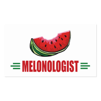 Personalized Watermelon Business Card