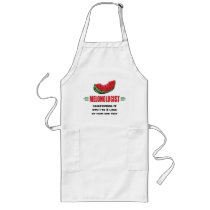 Personalized Watermelon Long Apron