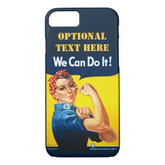 Personalized We can do it iPhone 7 Case