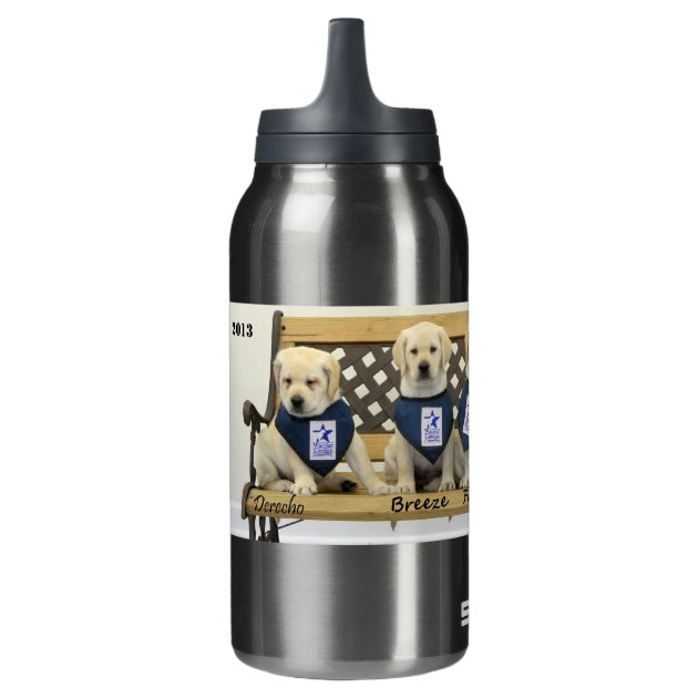 Personalized Weather Bench Insulated Water Bottle