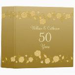 Personalized Wedding Anniversary Scrapbook Binder