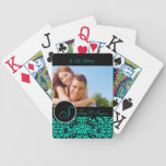 Personalized Wedding Bicycle Card Decks