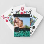 Personalized Wedding Bicycle Card Decks