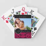 Personalized Wedding Bicycle Poker Cards