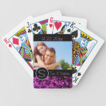 Personalized Wedding Bicycle Poker Deck