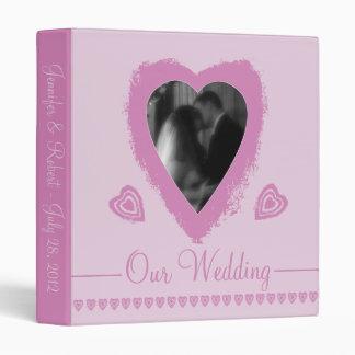 Personalized Wedding Binder