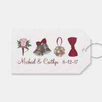 Personalized Wedding Engagement Party Shower Gift Tags