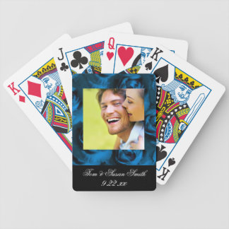 Personalized Wedding Favor Bicycle Playing Cards