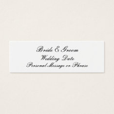 Personalized Wedding Favor Tag Template at Zazzle