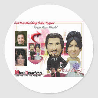 Personalized Wedding Gifts Ideas Round Stickers