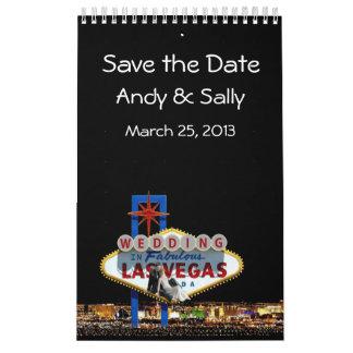 Personalized WEDDING In Las Vegas Calendar