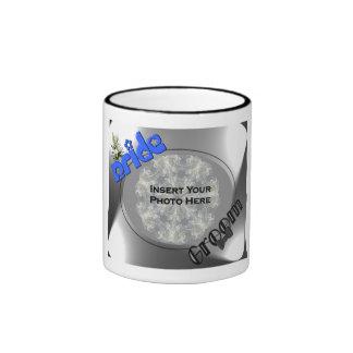 Personalized Wedding Photo Favor Coffee Mug #1
