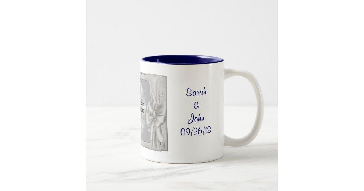 Personalized Wedding Favor Coffee Mugs : Personalized Wedding Photo Favor Coffee Mug #2 Zazzle