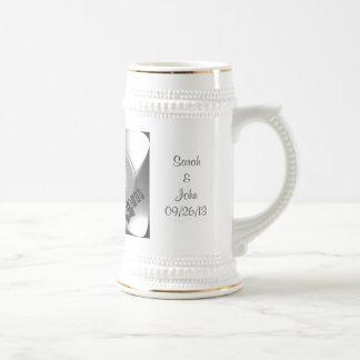 Personalized Wedding Photo Favor Stein #3 Mug