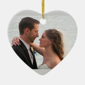 Personalized Wedding Photo Ornament