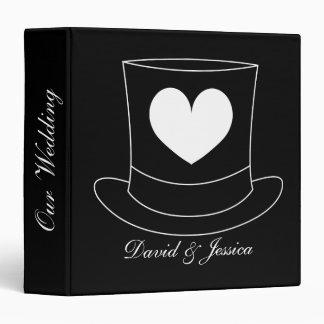 Personalized wedding planner binder or photo album