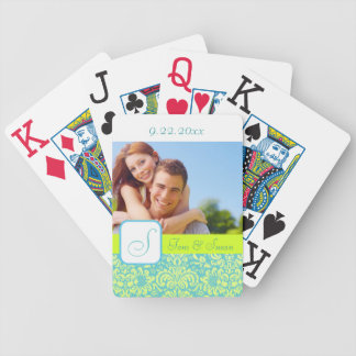 Personalized Wedding Poker Cards